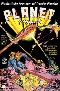 PLANET COMICS, Band 3, BSV Verlag