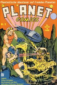 PLANET COMICS, Band 5, Phantastische Abenteuer auf fremden Planeten
