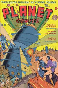 PLANET COMICS, Band 9, Phantastische Abenteuer auf fremden Planeten