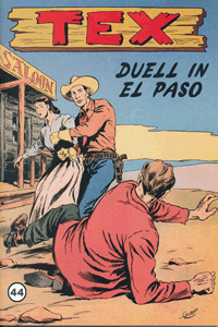 TEX WILLER, Band 44, Duell in El Paso