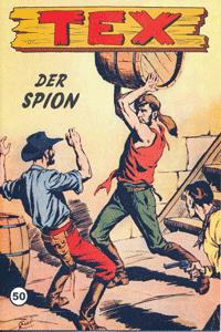 TEX WILLER, Band 50, Der Spion