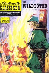Illustrierte Klassiker (Softcover), Band 49, Der Wildtöter