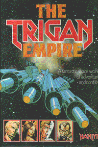TRIGAN EMPIRE, Einzelband, A fantastic space world of adventure and conflict
