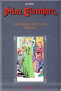 Prinz Eisenherz - Farbausgabe (Hal Foster), Band 5, Jahrgang 1945, 1946