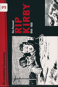 RIP KIRBY [Alex Raymond] [comic Gesamtausgabe], Band 3, Bocola Verlag