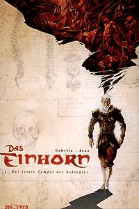 Das Einhorn, Band 1 + Figur, Der letzte Tempel des Asklepios