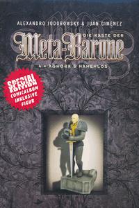 Die Kaste der Meta-Barone 4: Buch + Figur Aghora, Special 4, Splitter Comics