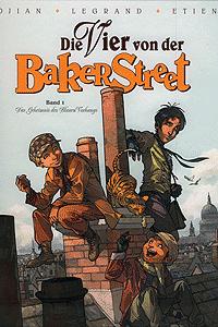 Die Vier von der Baker Street, Band 1, Das Geheimnis des Blauen Vorhangs