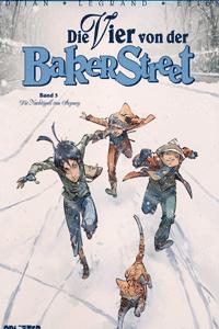 Die Vier von der Baker Street, Band 3, Die Nachtigall von Stepney