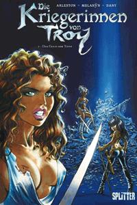 Die Kriegerinnen von Troy, Band 2, Das Gold der Tiefe