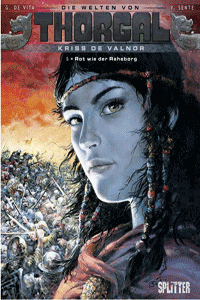Die Welten von Thorgal | Kriss de Valnor, Band 5, Rot wie der Raheborg