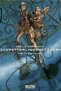 Schmetterlingsnetzwerk, Band 1, Splitter Comics