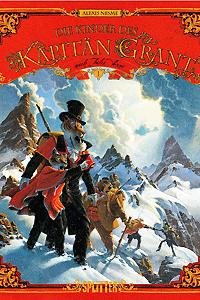 Die Kinder des K�pit�n Grant, Band 1, Splitter Comics