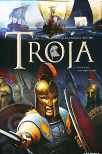 TROJA [comic], Band 3, Die Rätsel von Samothrake