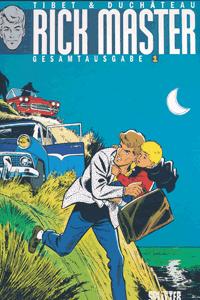 RICK MASTER Gesamtausgabe, Band 1, Splitter Comics