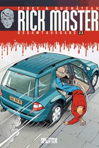 RICK MASTER Gesamtausgabe, Band 22, Die Nummer des Teufels