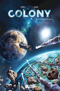 Colony, Band 1, Splitter Comics