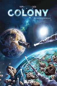Colony, Band 1, Die Schiffbrüchigen