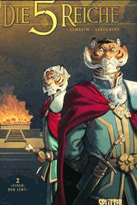 Die 5 Reiche, Band 2, Splitter Comics