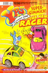 YPS Heft und Gimmick, Heft 1230, The New Racer