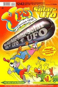 YPS Heft und Gimmick, Heft 1242, Das Solar-Ufo