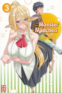 Die Monster Mädchen, Band 3, KAZÈ Anime & Manga