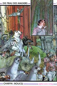 Die Frau des Magiers, Band 2, Alpha-Comic Verlag