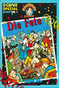 U-Comix Spezial Bunt, Band 1, Alpha-Comic Verlag