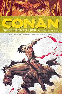 Conan, Band 8, Die blutbefleckte Zone und andere Geschichten