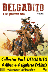 DELGADITO | Collector Pack Delgadito, Band 1-4, BD Must editions