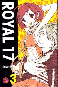Royal 17, Band 3, Carlsen-Manga