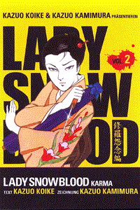 Lady Snowblood, Band 2, Carlsen-Manga