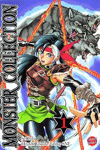 Monster Collection, Band 1, Carlsen-Manga