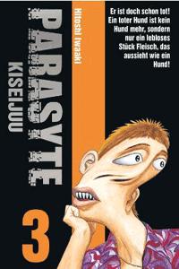 PARASYTE - KISEIJUU, Band 3, Panini Manga