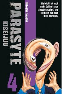 PARASYTE - KISEIJUU, Band 4, Panini Manga
