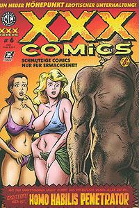 XXX-Comics, Band 6, Homo Habilis Penetrator