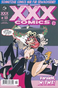 XXX-Comics, Band 15, Vorsicht Witwe, Tulda, Lucia, Pinky