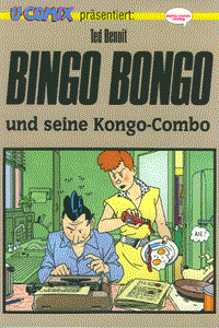 Bingo Bongo und seine Kongo-Combo, Comix 24, Alpha-Comic Verlag