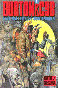 BURTON & CYB, Band 1, Edition Kunst der Comics
