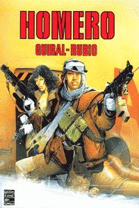 HOMERO, Einzelband, Edition Kunst der Comics