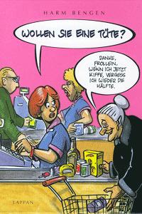 Wollen Sie eine Tüte?, Cartoon, Lappan