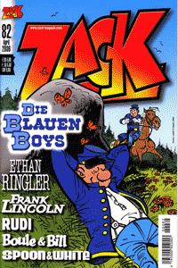 ZACK, Band 82, ZACK-Magazin