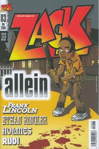ZACK, Band 83, ZACK-Magazin