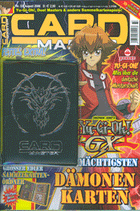 Cardmaster, Band 33, August 2006