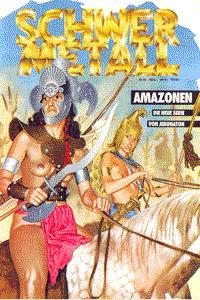 Schwermetall, Band 62, Amazonen, Hollywood II, Killer Planet, . . .