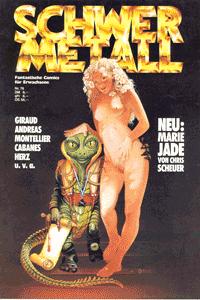 Schwermetall, Band 78, Der grosse Kristall, Tonis grosses Spiel, . . .