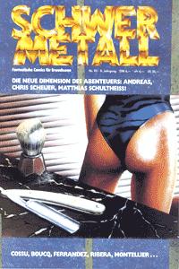 Schwermetall, Band 93, Goodbye Paul, Der Krieg der Bonkken, Der Vicomte, . . .