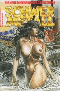 Schwermetall, Band 94, Druuna,  Die Vagabunden der Unendl.,  Die Frau des Magiers
