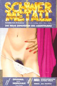 Schwermetall, Band 95, Druuna,  Münzautomaten,  Die Frau des Magiers, . . .
