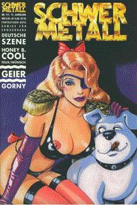 Schwermetall, Band 151, Deutsche Szene, Honey B. Cool, . . .